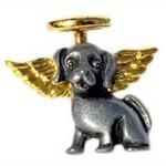 Click here for more information about Doggie Angel Pin