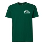 Men's Forest Green Crew Tee